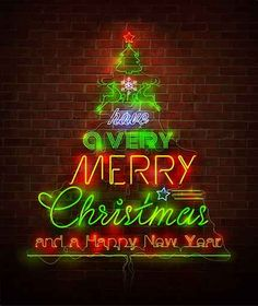 Buy Christmas Neon Sign Against Red Wall by BlinkBlink on GraphicRiver. Retro Christmas concept with neon typography. Merry Christmas Happy Holidays, Christmas Cover, Retro Christmas, All Things Christmas, Christmas Lights, Christmas Time, Christmas Posters, Holiday Lights, Outdoor Christmas