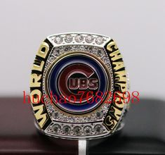 2016 Chicago Cubs World Seires Championship Ring 7-15 Size Copper Solid For MVP Kris Bryant The best Christmas gift