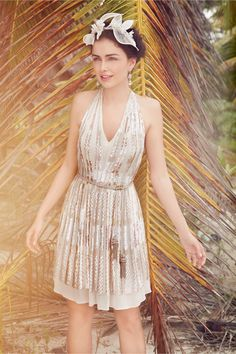sequin party dress from @BHLDN Weddings Weddings