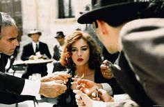 This is elegance. LOVE THIS SCENE Monica Bellucci in Malena