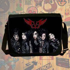 NEW HOT!!! Black Veil Brides Messenger Bag, Laptop Bag, School Bag, Sling Bag for Gifts & Fans #05