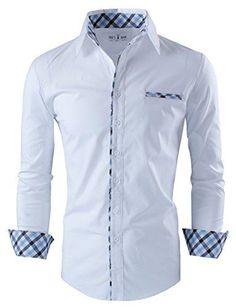 Tom's Ware Mens Premium Casual Inner Contrast Dress Shirt... http://www.amazon.com/dp/B00JQGJ4U6/ref=cm_sw_r_pi_dp_j7wjxb0Y37EP4
