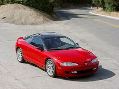 Eagle Talon Tsi Red Color