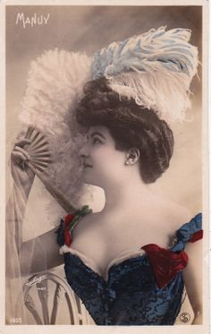 Lovely Edwardian Actress 'Manuy' by Reutlinger Original French Postcard | eBay