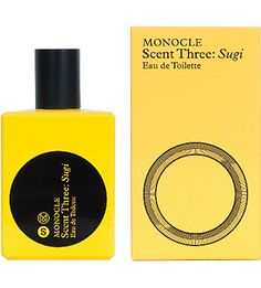 Comme des Garcons NEW Monocle Series Scent Three Sugi Eau de Toilette