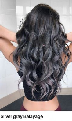 Every strike brings me closer to the next home run. –Babe Ruth www. Hair Dye Colors, Cool Hair Color, Charcoal Hair, Short Weave Hairstyles, Grey Ombre Hair, Haircut And Color, Balayage Hair, Haircolor, Hair Looks