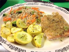 Chef Debi: Salmon is powerful addition to meal plan. Recipe: Healthy Parmesan Crusted Salmon | Planit Northwest
