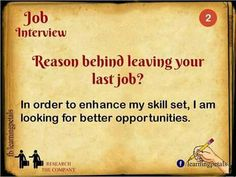 Hahaha....I've been told this is too generic. Obviously I'm not going to mention the true reasons I'm looking for a new job. The real problem with this response is that it doesn't tell the company what you will do to improve things for them. People, process, product, whatever. They want to know how you will ease their pain, not how they ease yours. #bestjobinterviewtips