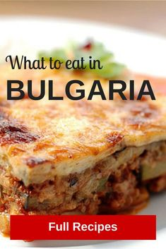 Discover Bulgarian cuisine with these delicious recipes / via Travelling Buzz