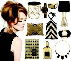 {Black+Gold}