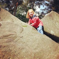 Rock climbing daughter! (Old fashioned fun part 6)