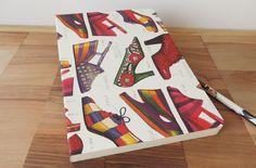 Cahier souple A5 shoes imprimé par Rossi 1931© pour Les-papiers-de-Lucas.