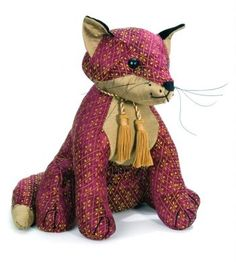 Rufus Fox Door Stop by Dora Designs