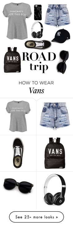 """Roadtrip"" by matea-varesko on Polyvore featuring Vans, Recover and Beats by Dr. Dre"