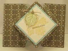 Stampin' with Nanna: Diamond Fold Card Tutorial