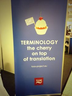 Terminology - the cherry on top of translation