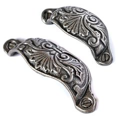Victorian Fan Drawer Pull - Originally made in 1876, the Victorian fan has to be our best seller when it comes to drawer pulls and it's not hard to see why. Unsurpassable British quality.