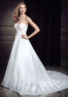 Kenneth Winston: Ella Rosa Collection A-Line Wedding Dress