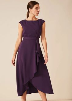 Dressy Maxi Dress Wedding Lovely Special Occasion Dresses Phase Eight Plum Wedding Dresses, Maxi Dress Wedding, Wedding Attire, Dressy Maxi Dress, High Neck Lace Top, Wedding Guest Looks, Lilac Dress, Dress Shapes, Lovely Dresses