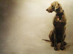 Artist Dede Gold...beautiful dogs!