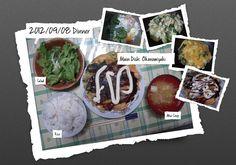 For Dinner on 08/Sep/2012