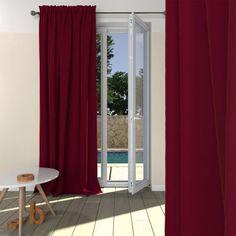 14 rideaux rideaux oeillets bleus