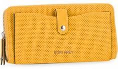 !!!Suri Frey Damengeldbörse Yellow Romy Hetty gelb Suri Frey, Wallet, Yellow, Pocket Wallet, Artificial Leather, Handmade Purses, Diy Wallet, Purses, Gold