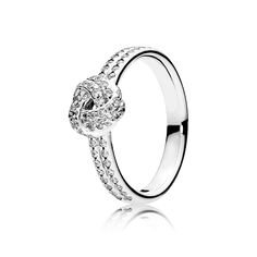 Sparkling Love Knot Ring - Pandora UK | PANDORA eSTORE