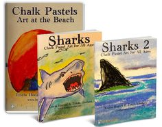 Forty tutorials to fill up your summer for a discount price! Everything from beach scenes to sea stars to turtles. And a variety of stunning sharks.