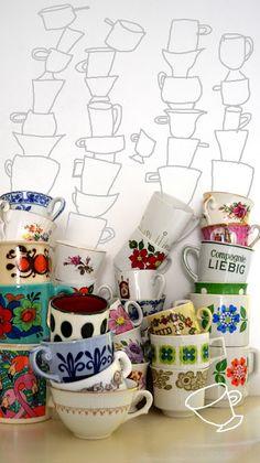Mugs, mugs and more mugs