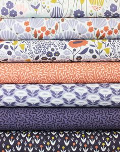 Elizabeth Olwen for Cloud9, Morning Song, Dawn in FAT QUARTERS 7 Total
