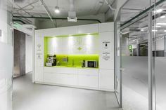 The breakout space, a part of the new 32,291 sqft office of gaming company Playtech located in Kiev, Ukraine, designed by Soesthetic Group & completed in 2014. #interiordesign #office #interior