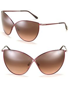 Tom Ford Evelyn Oversized Cat Eye Sunglasses | Bloomingdale's