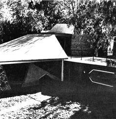 Vista de la entrada, Casa Particular de Manuel Larrosa, calle Tepexpan 14…