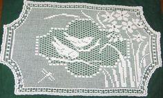 Filet crochet Laura Ingalls Wilder