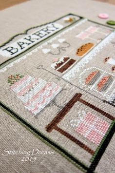 Stitching Dreams: Country Cottage Needleworks