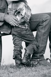 there was NOTHING cuter than my two year old sons in their wranglers!