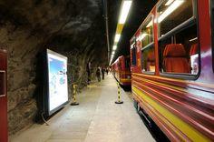 Estação dentro da rocha - Jungfraujoch - Viagem com Sabor