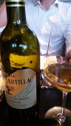 Château Latour-Martillac 1995. Perfect example of how great a white Bourdeaux wine can be.