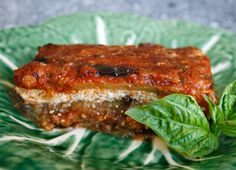 Eggplant Parmesan (meatless)  This recipe is both filling and low fat, using a few tricks to adapt the traditional heavier recipe into one even the most health conscious would enjoy. Click pic for recipe details