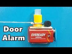 How to Make a Simple Trip Wire Alarm for Door at Home - YouTube