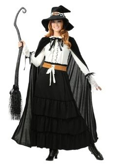 Be transformed into a historical witch in this exclusive Women's Salem Witch Costume.