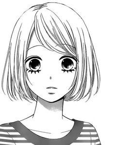 From what manga? manga girls in 2019 аниме арт, рисунки, эскиз аниме. Anime Drawings Sketches, Anime Sketch, Manga Drawing, Cartoon Drawings, Manga Art, Cute Drawings, Manga Anime, Anime Guys, Kawaii Anime Girl