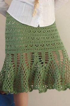Ruffle Bottom Skirt