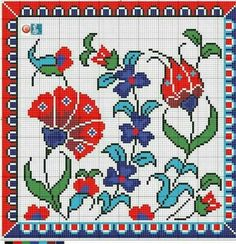 Cross Stitch Love, Cross Stitch Borders, Cross Stitch Flowers, Cross Stitching, Cross Stitch Embroidery, Embroidery Patterns, Hand Embroidery, Cross Stitch Patterns, Flower Art Images