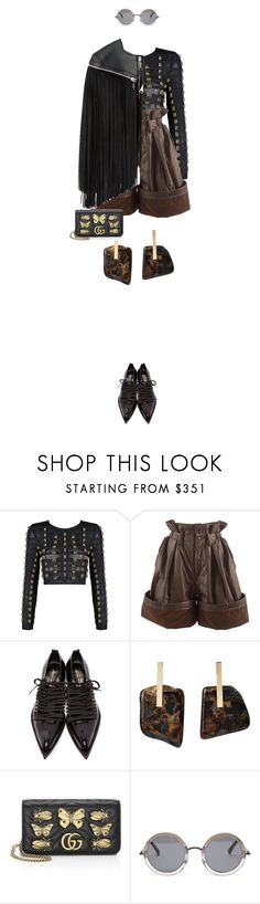 """""""eva1707"""" by evava-c on Polyvore featuring Issey Miyake, Comme des Garçons, Kathleen Whitaker, Gucci and The Row"""