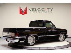 Velocity Motorcars - Photos for 1985 GMC C& 1500 Series 1987 Chevy Silverado, Silverado Truck, Custom Chevy Trucks, C10 Trucks, Chevy Pickup Trucks, Classic Chevy Trucks, Chevy C10, Chevy Pickups, Chevrolet Trucks