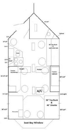 Ice Castle Fish House Interior View Inspiring Ideas Pinterest - Ice castle fish house floor plans
