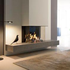Modern Master Bedroom, Master Bedroom Design, Ikea Living Room, Living Room Grey, Tv Wall Design, House Design, Built In Around Fireplace, Fireplace Remodel, Architecture