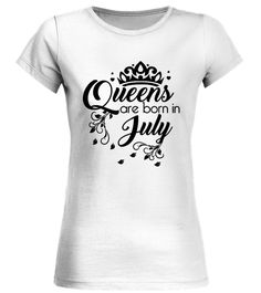 CHECK OUT OTHER AWESOME DESIGNS HERE! Shop for Birthday Gift Guide shirts, hoodies and gifts. Find Birthday Gift Guide designs printed with care on top quality garments. July, born in July, birthday gift, funny birthday gift, awesome birthday gift, best birthday gift, happy birthday, queen are born in July. Women's Queens Are Born In July - Birthday T-Shirt TIP: If you buy 2 or more (hint: make a gift for someone or team up) you'll save quite a lot on shipping. ...